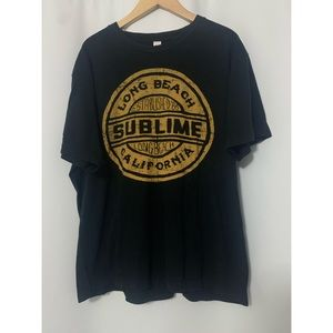 Sublime Long Beach Tee Size Large